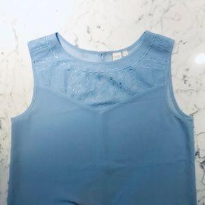Stunning Blue Top Size M